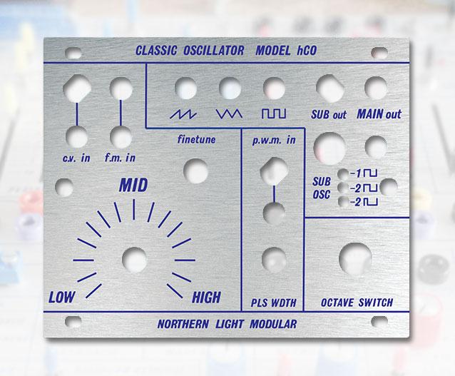 Classic Oscillator Model hCO - DIY